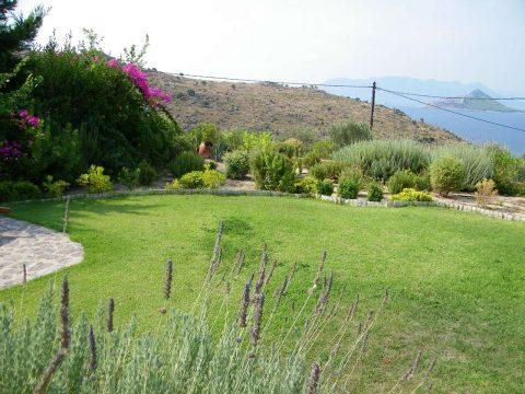 Μεσογειακός κήπος σε νησί