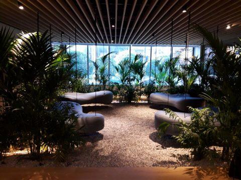 Interior Garden Σε κτίριο γραφείων